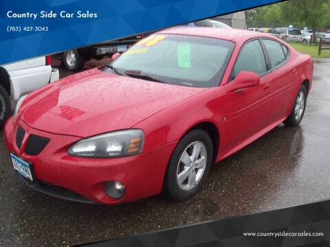 2008 Pontiac Grand Prix for sale at Country Side Car Sales in Elk River MN