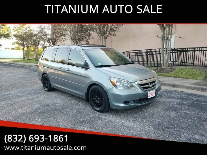 2006 Honda Odyssey for sale at TITANIUM AUTO SALE in Houston TX