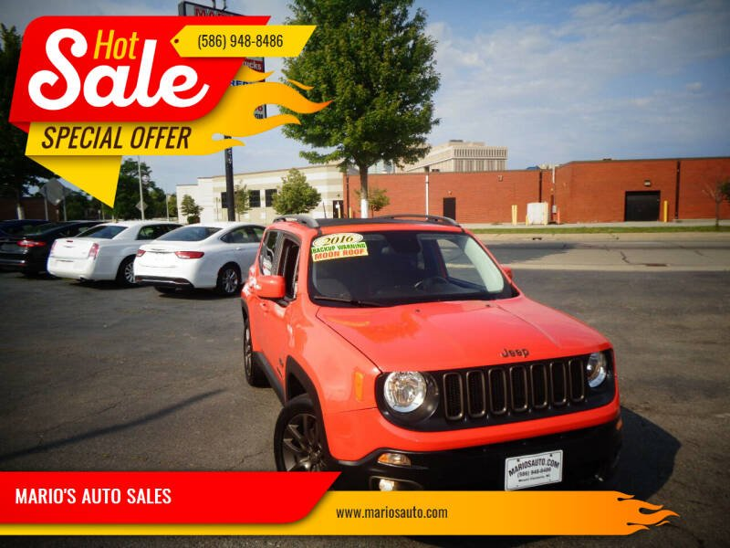2016 Jeep Renegade for sale at MARIO'S AUTO SALES in Mount Clemens MI