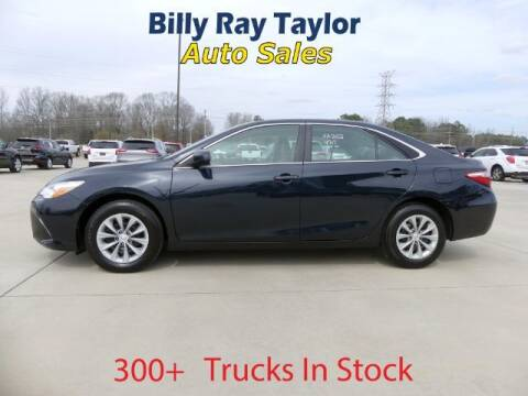 2017 Toyota Camry for sale at Billy Ray Taylor Auto Sales in Cullman AL