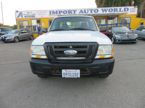 2007 Ford Ranger for sale at Import Auto World in Hayward CA