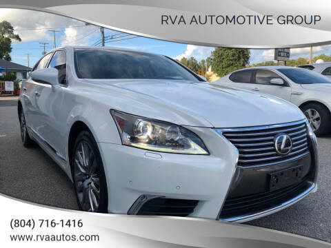 2014 Lexus LS 460 for sale at RVA Automotive Group in North Chesterfield VA