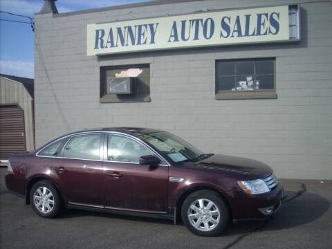2009 Ford Taurus for sale at Ranney's Auto Sales in Eau Claire WI
