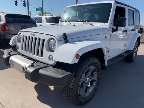 2018 Jeep Wrangler JK Unlimited for sale at Town and Country Motors in Mesa AZ