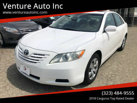 2007 Toyota Camry for sale at Venture Auto Inc in South Gate CA