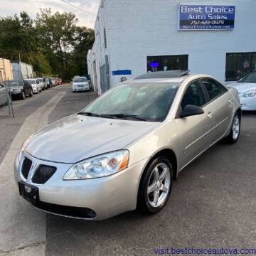 2007 Pontiac G6 for sale at Best Choice Auto Sales in Virginia Beach VA