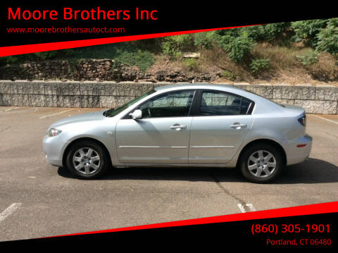 2008 Mazda MAZDA3 for sale at Moore Brothers Inc in Portland CT