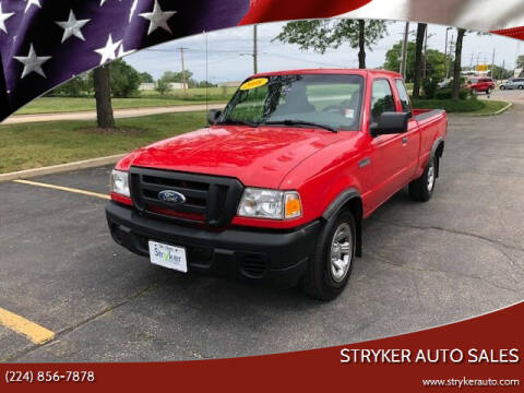 2008 Ford Ranger for sale at Stryker Auto Sales in South Elgin IL