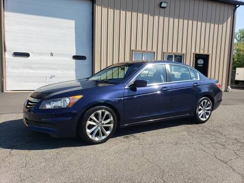 2012 Honda Accord for sale at Massirio Enterprises in Middletown CT