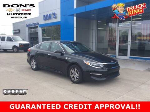 2016 Kia Optima for sale at DON'S CHEVY, BUICK-GMC & CADILLAC in Wauseon OH