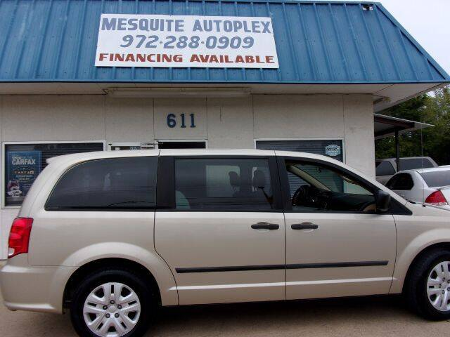 2013 Dodge Grand Caravan for sale at MESQUITE AUTOPLEX in Mesquite TX