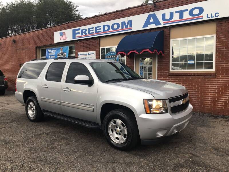 2013 Chevrolet Suburban for sale at FREEDOM AUTO LLC in Wilkesboro NC