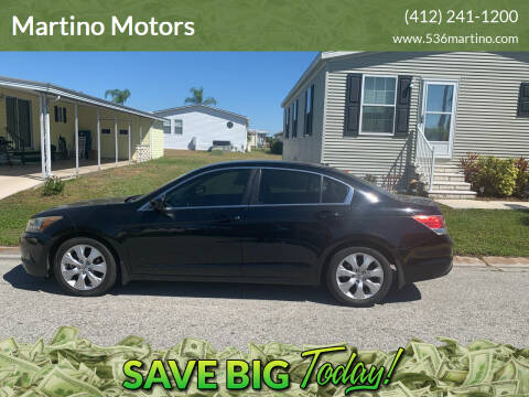 2010 Honda Accord for sale at Martino Motors in Pittsburgh PA