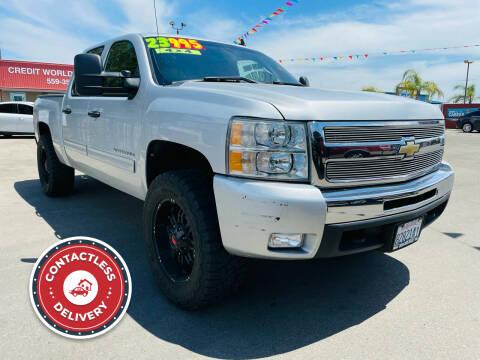 2011 Chevrolet Silverado 1500 for sale at Credit World Auto Sales in Fresno CA