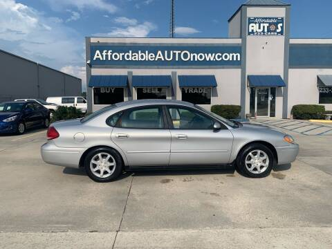 2005 Ford Taurus for sale at Affordable Autos in Houma LA