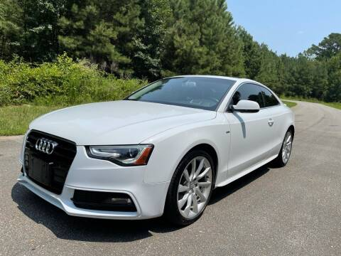 2015 Audi A5 for sale at Carrera AutoHaus Inc in Clayton NC