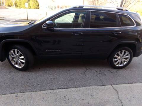 2014 Jeep Cherokee for sale at West End Auto Sales LLC in Richmond VA