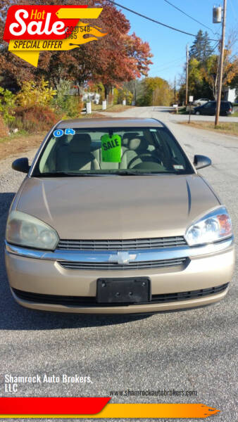 2004 Chevrolet Malibu for sale at Shamrock Auto Brokers, LLC in Belmont NH