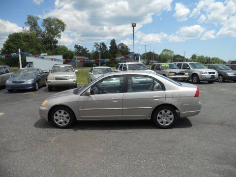 2002 Honda Civic for sale at All Cars and Trucks in Buena NJ
