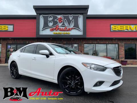 2014 Mazda MAZDA6 for sale at B & M Auto Sales Inc. in Oak Forest IL