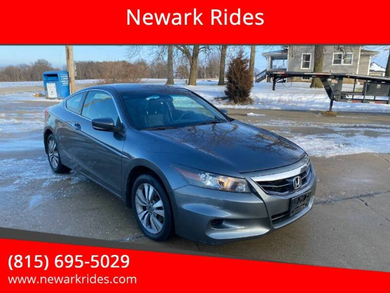 2012 Honda Accord for sale at Newark Rides in Newark IL
