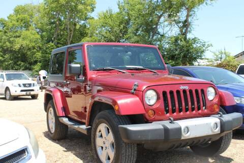2012 Jeep Wrangler for sale at Abc Quality Used Cars in Canton TX