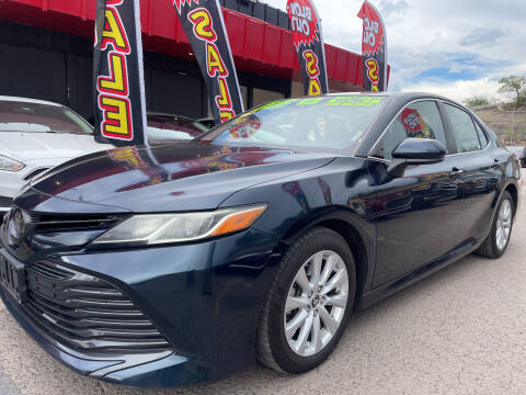2018 Toyota Camry for sale at Duke City Auto LLC in Gallup NM