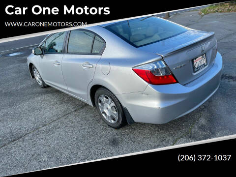 2012 Honda Civic for sale at Car One Motors in Seattle WA
