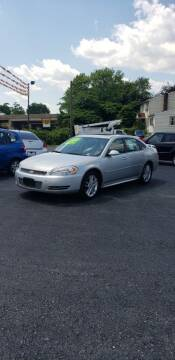 2009 Chevrolet Impala for sale at Credit Connection Auto Sales Inc. CARLISLE in Carlisle PA