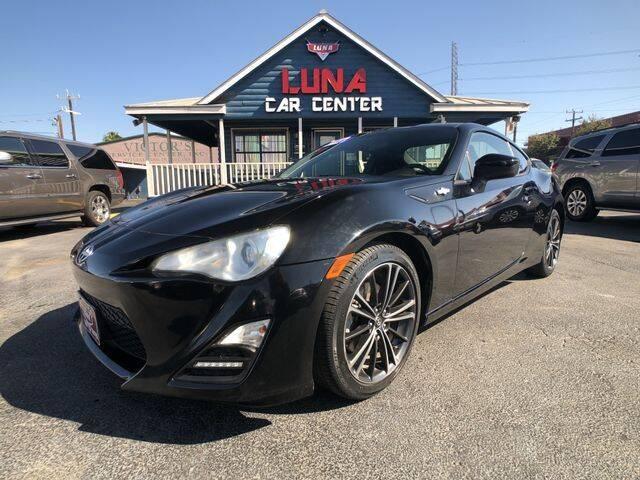 2013 Scion FR-S for sale at LUNA CAR CENTER in San Antonio TX