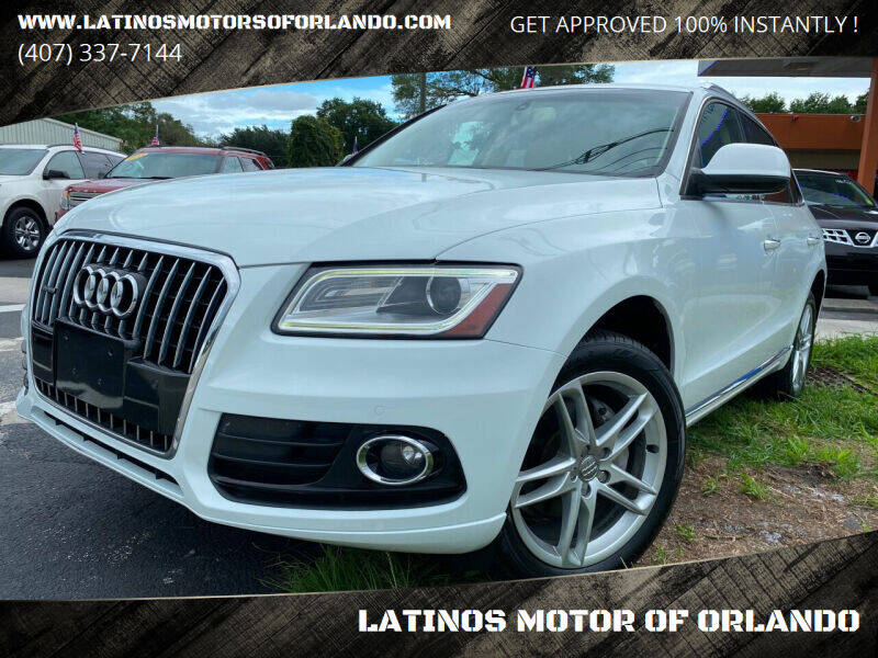 2015 Audi Q5 for sale at LATINOS MOTOR OF ORLANDO in Orlando FL
