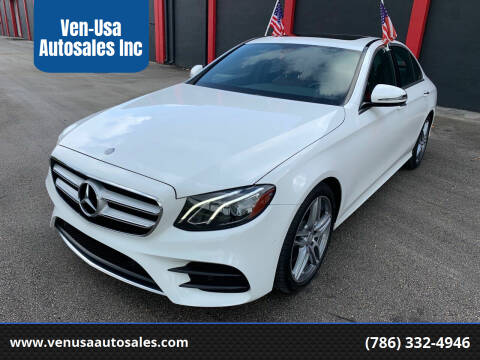 2017 Mercedes-Benz E-Class for sale at Ven-Usa Autosales Inc in Miami FL