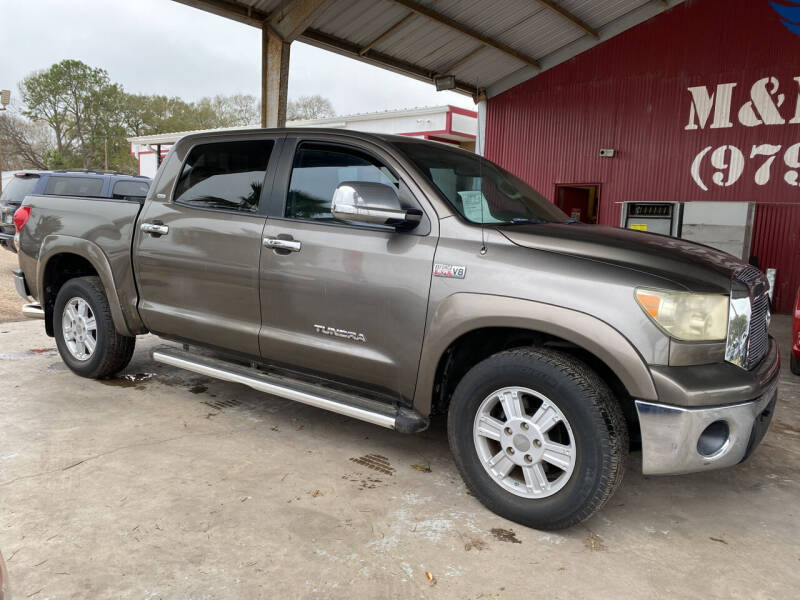 2008 Toyota Tundra for sale at M & M Motors in Angleton TX