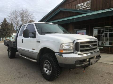 2003 Ford F-250 Super Duty for sale at Coeur Auto Sales in Hayden ID