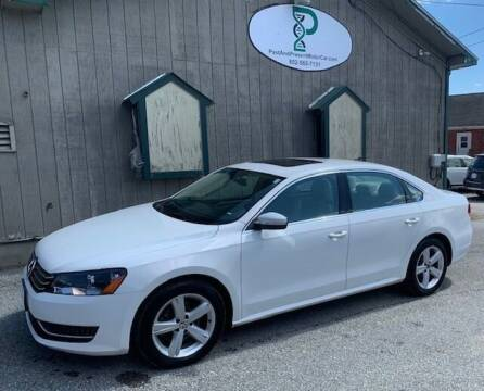 2013 Volkswagen Passat for sale at Past & Present MotorCar in Waterbury Center	 VT