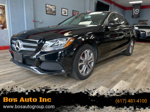 2018 Mercedes-Benz C-Class for sale at Bos Auto Inc in Quincy MA
