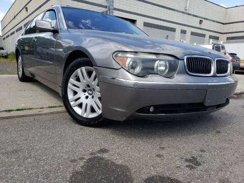 2003 BMW 7 Series for sale at Illinois Auto Sales in Paterson NJ