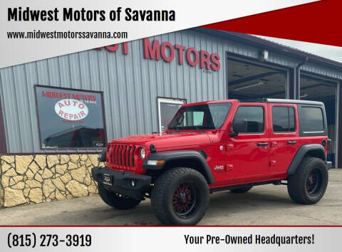 2018 Jeep Wrangler Unlimited for sale at Midwest Motors of Savanna in Savanna IL