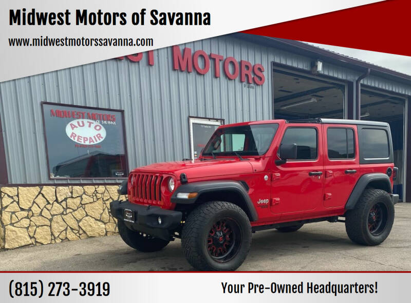 2018 Jeep Wrangler Unlimited for sale in Savanna, IL