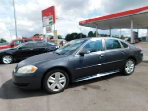 2010 Chevrolet Impala for sale at WOOD MOTOR COMPANY in Madison TN