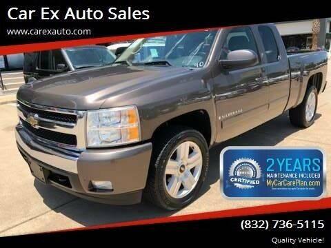 2008 Chevrolet Silverado 1500 for sale at Car Ex Auto Sales in Houston TX