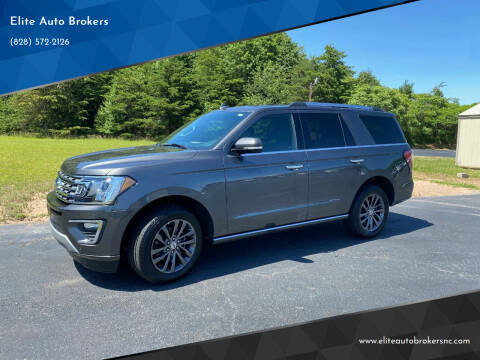 2020 Ford Expedition for sale at Elite Auto Brokers in Lenoir NC
