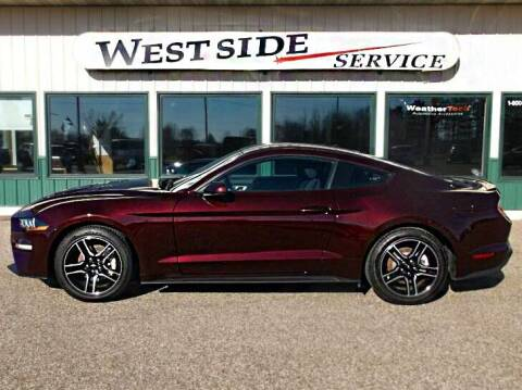 2018 Ford Mustang for sale at West Side Service in Auburndale WI