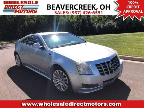 2012 Cadillac CTS for sale at WHOLESALE DIRECT MOTORS in Beavercreek OH