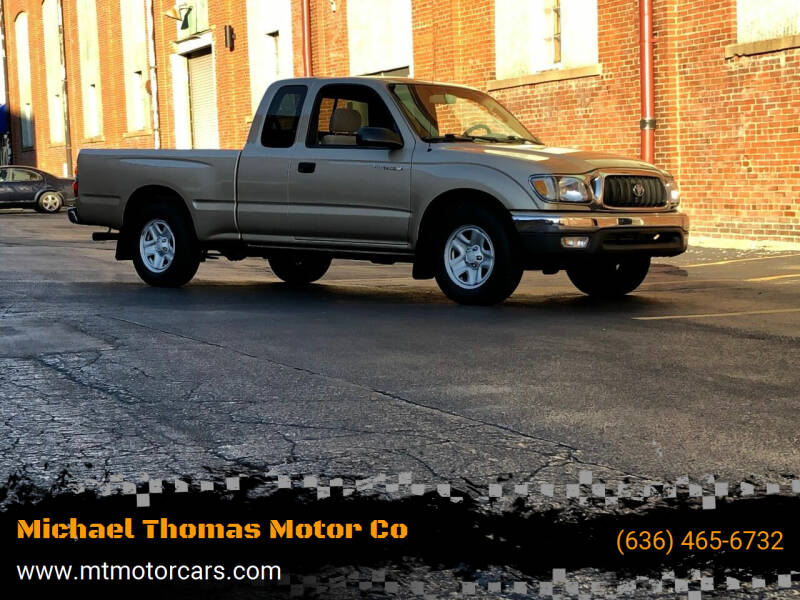 2004 Toyota Tacoma for sale at Michael Thomas Motor Co in Saint Charles MO