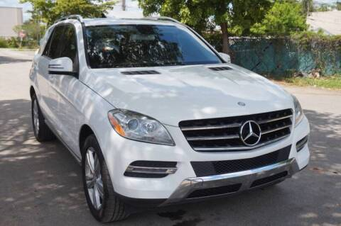 2015 Mercedes-Benz M-Class for sale at SUPER DEAL MOTORS 441 in Hollywood FL