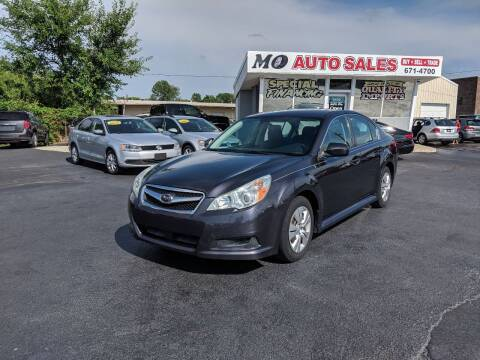 2011 Subaru Legacy for sale at Mo Auto Sales in Fairfield OH