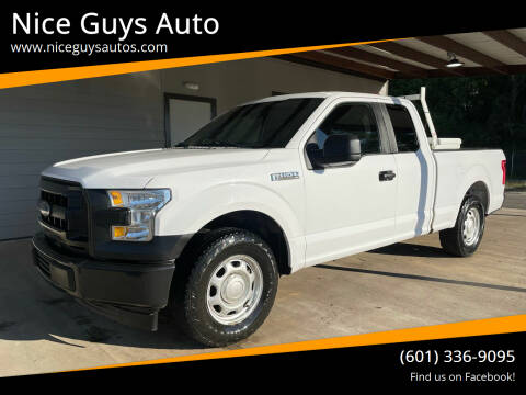 2017 Ford F-150 for sale at Nice Guys Auto in Hattiesburg MS