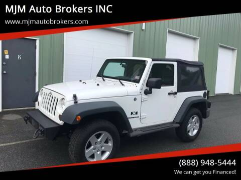 2009 Jeep Wrangler for sale at MJM Auto Brokers INC in Gloucester MA