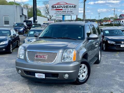 2008 GMC Yukon for sale at Supreme Auto Sales in Chesapeake VA